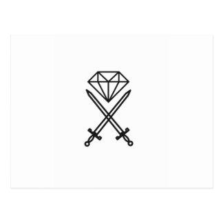 De besnoeiing van de diamant briefkaart