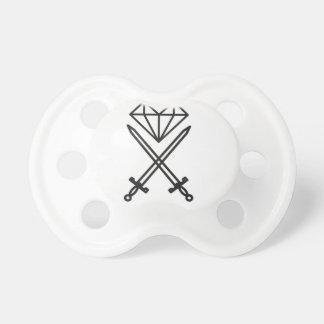 De besnoeiing van de diamant fopspeentjes