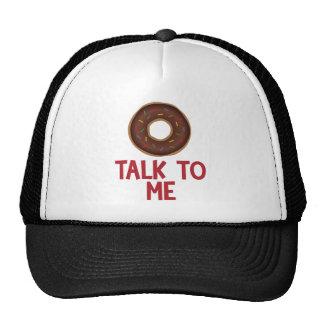 De Bespreking van de doughnut aan me Mesh Petten