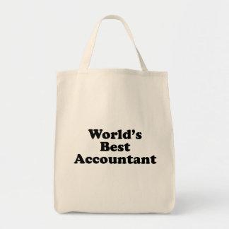 De Beste Accountant van de wereld Draagtas