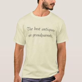 De beste antiquiteiten zijn grootouders t shirt
