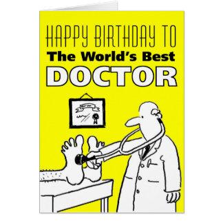 De beste Arts van het Woord - Gelukkige Verjaardag Kaart
