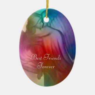De beste Engel van Vrienden voor altijd - Ornament