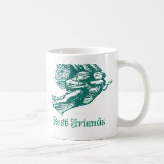De beste Engelen van Vrienden Koffiemok