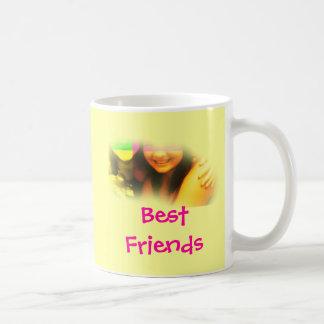 De beste Gele en Roze Mok van Vrienden