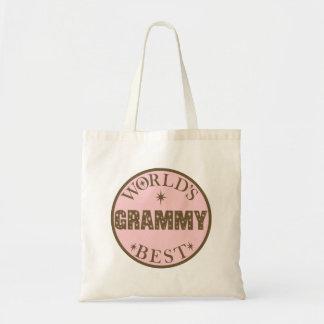 De Beste Gift Grammy van werelden Draagtas