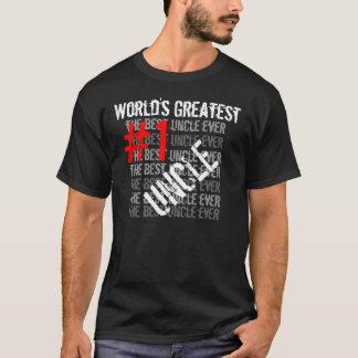 De beste Grootste Oom #1 Oom van Oom Ever World's T Shirt