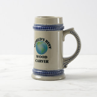De Beste Houten Beeldhouwer van de wereld Bierpul