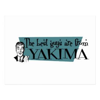 De beste kerels zijn van Yakima Briefkaart