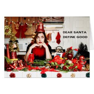 """De """"beste Kerstman, bepaalt Goed """" Briefkaarten 0"""