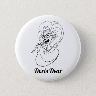 De beste Knoop Doris! Ronde Button 5,7 Cm