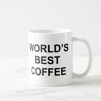De Beste Koffie van de wereld Koffiemok