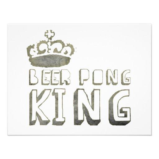 De beste Koning van Pong van het Bier Aankondiging