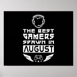 De beste Kuit Gamers in Augustus Poster
