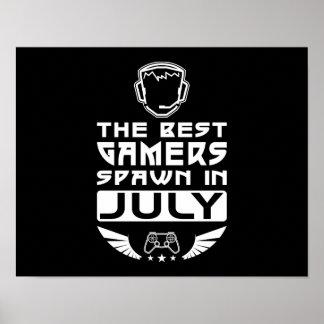 De beste Kuit Gamers in Juli Poster