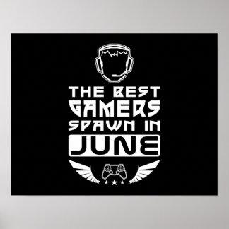 De beste Kuit Gamers in Juni Poster