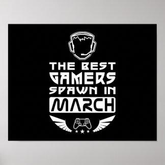 De beste Kuit Gamers in Maart Poster