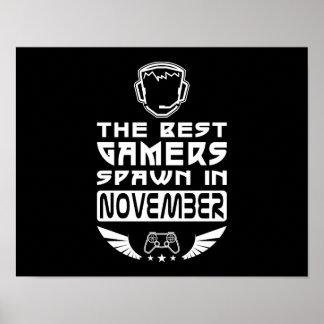 De beste Kuit Gamers in November Poster