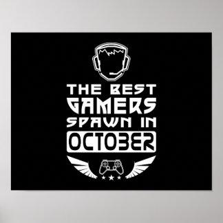 De beste Kuit Gamers in Oktober Poster