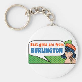 De beste meisjes zijn van Burlington Sleutelhanger
