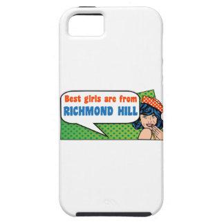 De beste meisjes zijn van de Heuvel van Richmond Tough iPhone 5 Hoesje