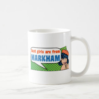 De beste meisjes zijn van Markham Koffiemok