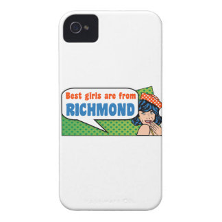 De beste meisjes zijn van Richmond iPhone 4 Hoesje