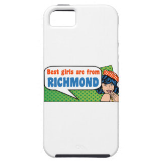 De beste meisjes zijn van Richmond Tough iPhone 5 Hoesje
