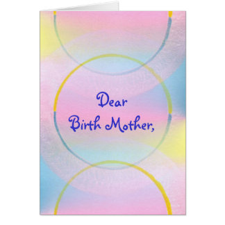 De beste Moeder van de Geboorte, dankt u Briefkaarten 0