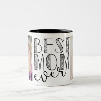 De beste Mok van het Mamma ooit Tweekleurige Koffiemok