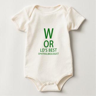 De Beste Oftalmoloog van werelden Baby Shirt