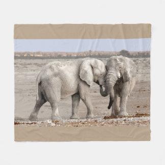 De beste Olifanten van Vrienden Fleece Deken