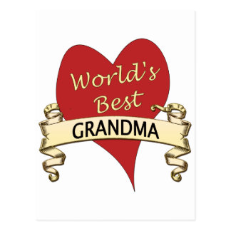 De Beste Oma van de wereld Briefkaart