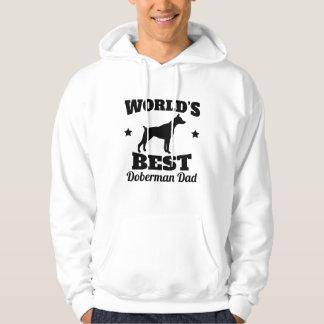 De Beste Papa Doberman van werelden Hoodie