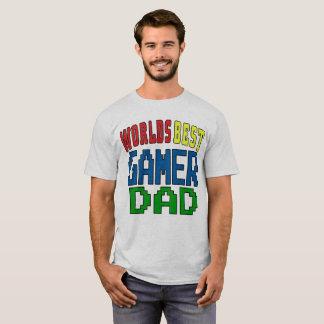 De Beste Papa Gamer van werelden T Shirt