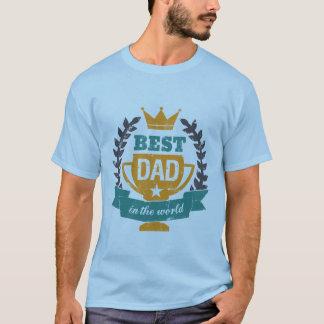 De Beste Papa van de T-shirt van het Vaderdag van