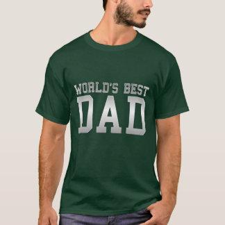 """""""De Beste Papa van de wereld """" T Shirt"""