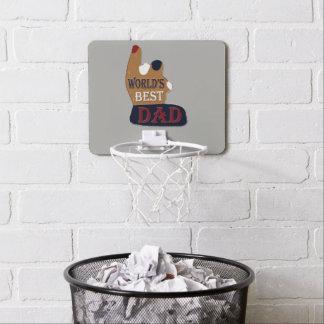 De Beste Patriottische Papa van de wereld Mini Basketbalring