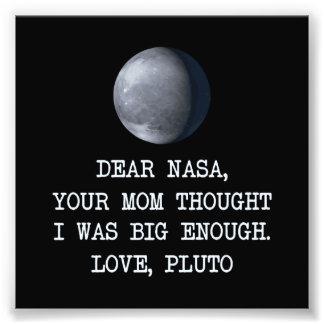 De beste Pluto van de Liefde van NASA Fotoafdrukken