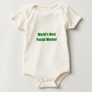 De Beste PostArbeider van werelden Baby Shirt