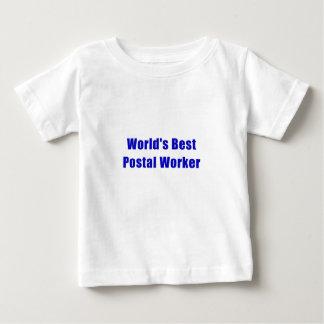 De Beste PostArbeider van werelden Baby T Shirts