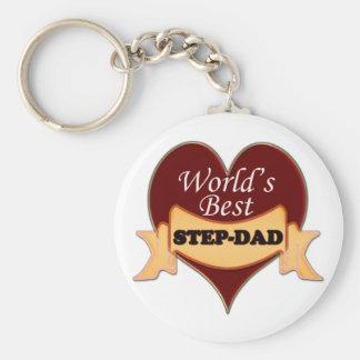 De Beste stap-Papa van de wereld Sleutelhanger