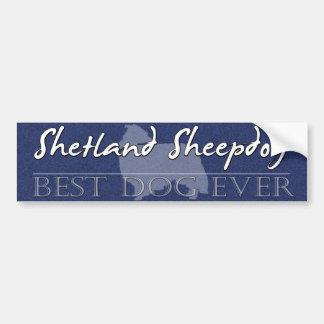 De beste Sticker van de Bumper van de Herdershond