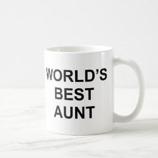 De Beste Tante van de wereld Koffiemok