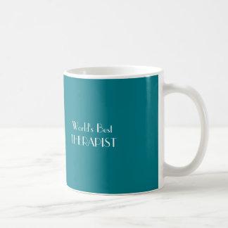 De Beste THERAPEUT van de wereld Koffiemok