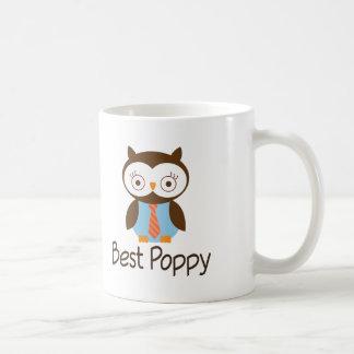 De beste Uil van de Papaver Koffiemok