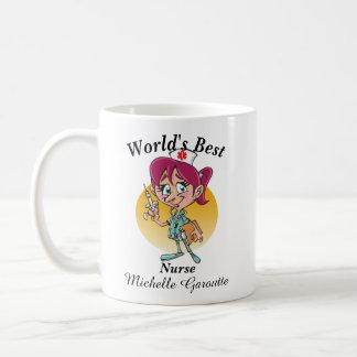 De Beste Verpleegster van de wereld Koffiemok