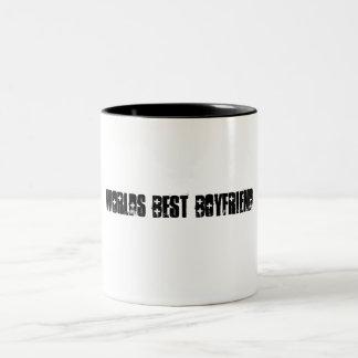 De Beste Vriend van werelden Tweekleurige Koffiemok