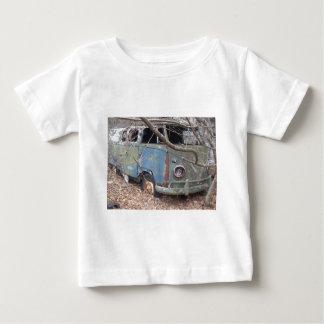 De Bestelwagen van Hippy Baby T Shirts
