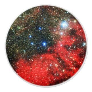 De Bestrooide Melkweg van Falln Goud Keramische Knop